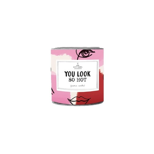 You Look So Hot Candle Tin 90g - Fresh Cotton