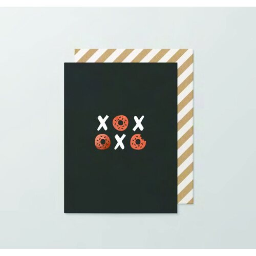 XOXO Donut small card