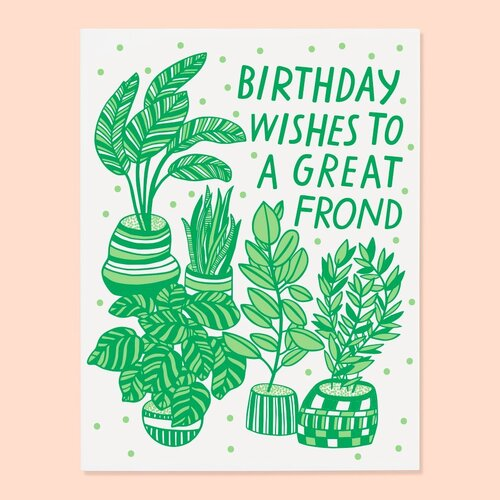 Birthday Wishes for a Great Frond