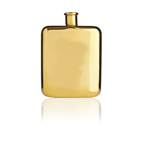 Belmont™ Gold Plated Flask by Viski