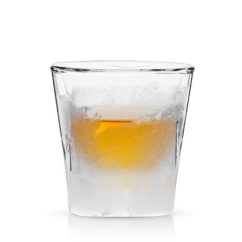 Glacier: Double Walled Chilling Whiskey Glass by Viski