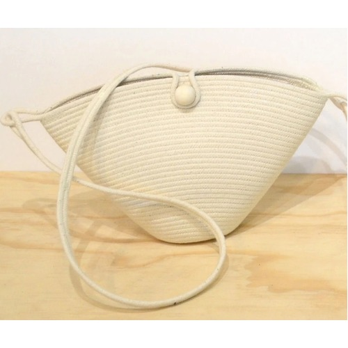 Button Bag Ivory