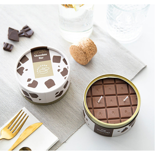 Chocolate Bar Scented Soy Candle Can