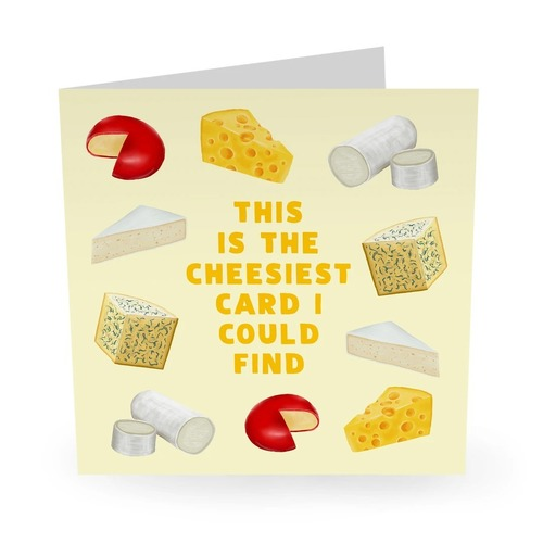 CHEESIEST CARD