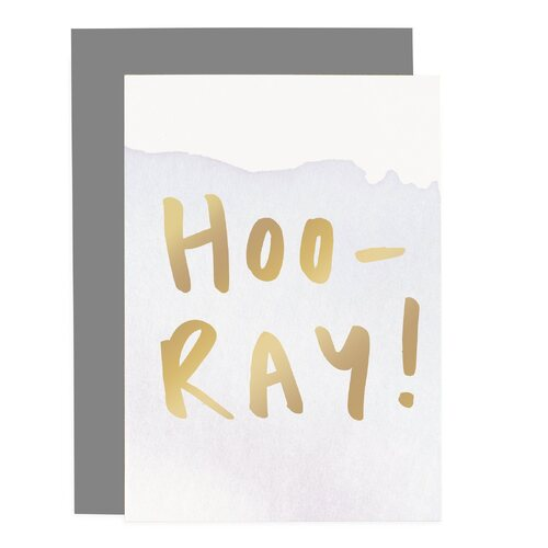 Hoo-Ray - Ombre Card