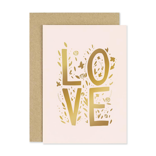 LOVE Blush Card