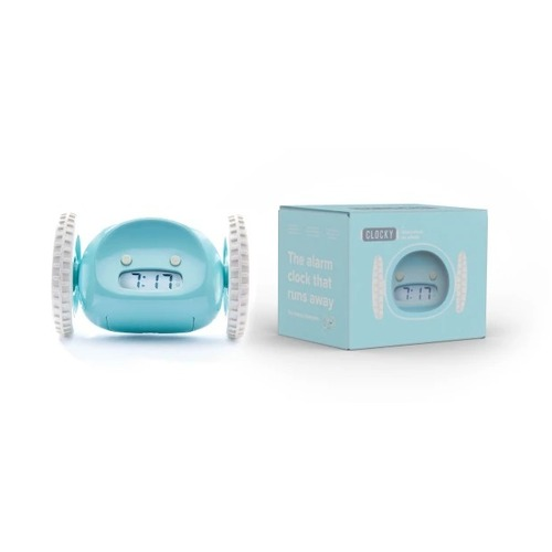Aqua Clocky® Alarm Clock on Wheels