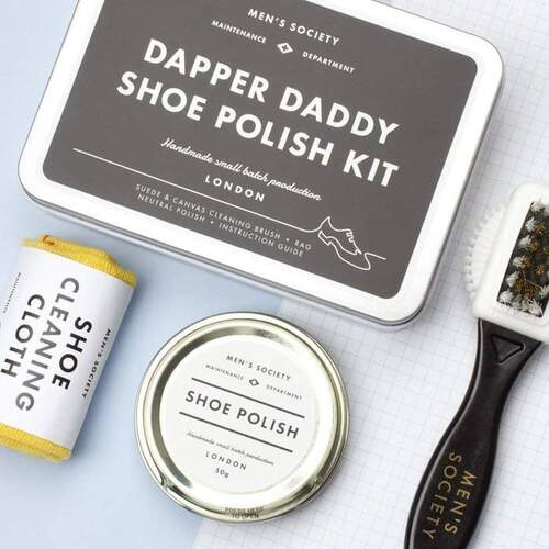 Dapper Daddy Shoe Polish Kit.