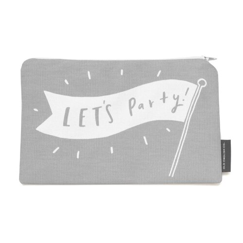 Lets party make up pouch