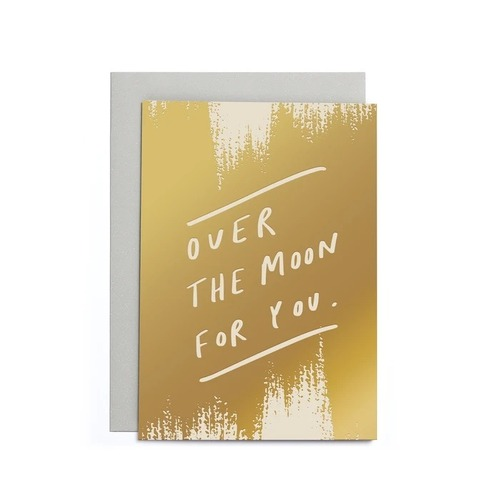 Over The Moon Small Card