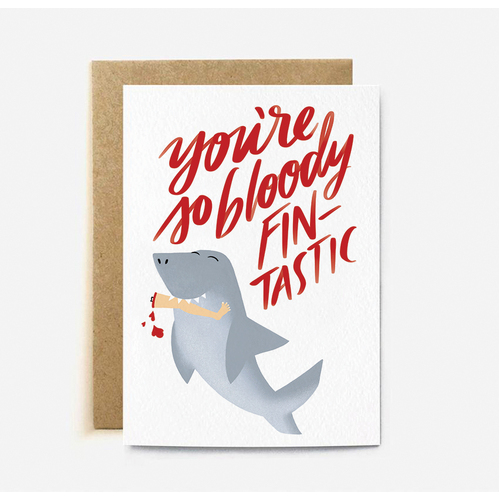 You're So Bloody Fin-tastic