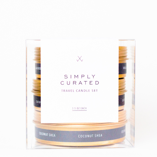 Travel candle set #3